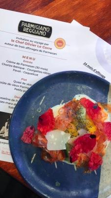 parmigiano_reggiano_parmesan_entrée_restaurant_Anna_consortium_coquelicot